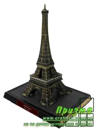 Эйфелева башня новогодняя поделка